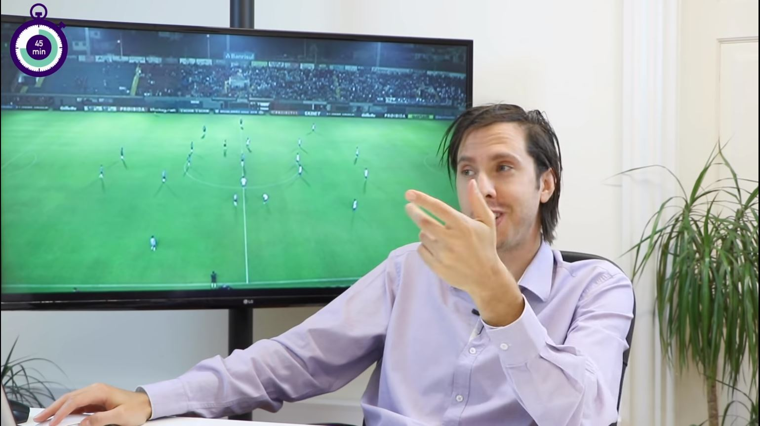 Início da segunda parte do Grêmio vs Fortaleza, jogo 0-0