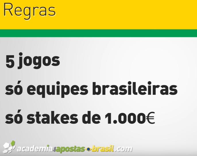 Regras para o desafio no Brasileirão 2019
