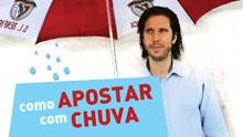 Diário Brasileirão: jogo 1, parte 1, Apostar com chuva